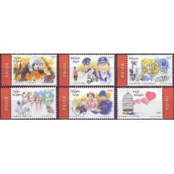 Belgium 2003 n° 3150/55 used