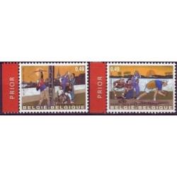 Belgium 2003 n° 3157/58 used