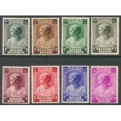 Belgium 1937 n° 458/65 used
