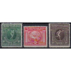 Belgium 1920 n° 179/81 used