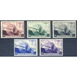 Belgium 1938 n° 466/70 used