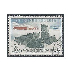 Belgium 1957 n° 1031 used