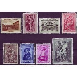 Belgium 1939 n° 504/11 used