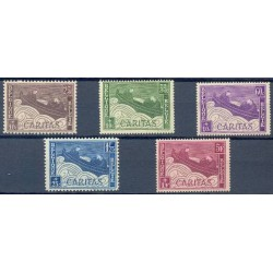 Belgium 1927 n° 249/53 used