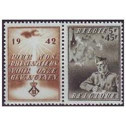 Belgium 1942 n° 602 used