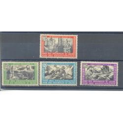 Belgium 1942 n° E30/33** MNH