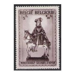 Belgium 1942 n° 592A used