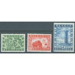 Belgium 1950 n° 823/25 used