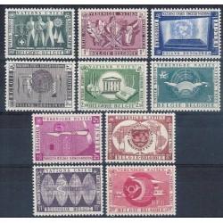 Belgium 1958 n° 1053/62 used