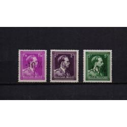 Belgium 1946 n° 724B/24F** MNH