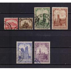 Belgium 1928 n° 267/72 used