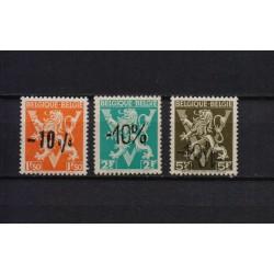 Belgium 1946 n° 724G/24I** MNH