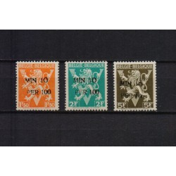 Belgium 1946 n° 724K/24M** MNH
