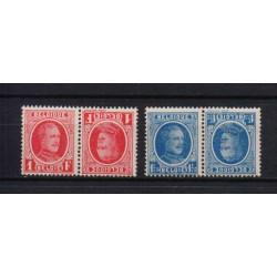 Belgium 1922 n° kp 1-2** MNH