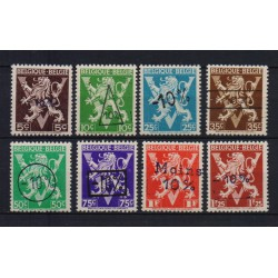 Belgium 1946 n° 724o/24v** MNH