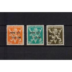 Belgium 1946 n° 724K/M used