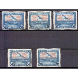 Belgium 1931 n° PR30/34** MNH