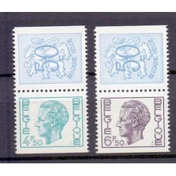 Belgium 1973 n° KP30/31** MNH