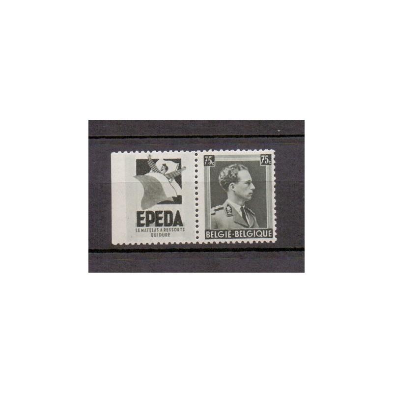 Belgium 1938 n° PU100** MNH