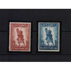 Belgium 1932 n° 351-52 used