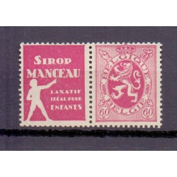 BELGIUM 1929 N° PU39 MNH**