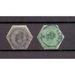 BELGIUM 1866 N° TG1/2 USED