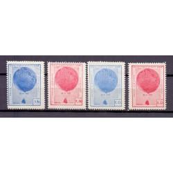 BELGIUM 1937 N° E15/18 MNH**