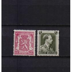 BELGIE 1938 N° 479a/480a...