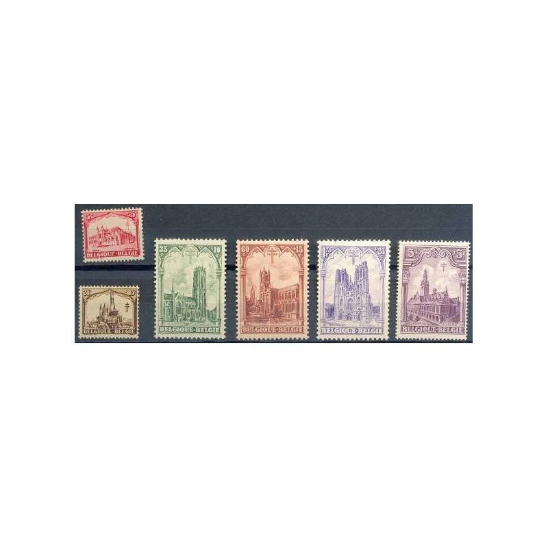 Belgium 1928 n° 267/72** MNH