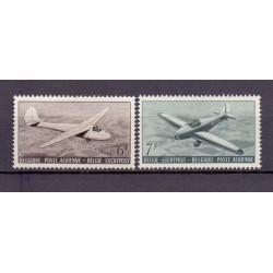 Belgium 1951 N° PA28/29 used