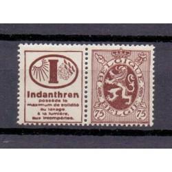 Belgium 1929 N° PU56 mnh**