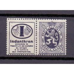 Belgium 1929 N° PU51 mnh**