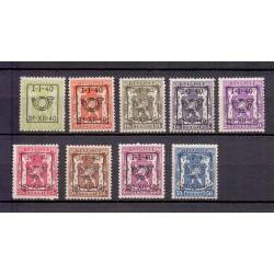 Belgie 1940 N° PRE437/45...