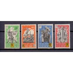 Belgium 1941 n° E22/25** MNH
