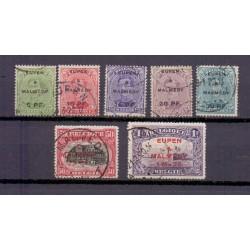 Belgium 1920 n° OC55/61 used