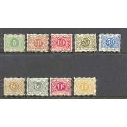 Belgium 1895 n° TX3/11 mnh**