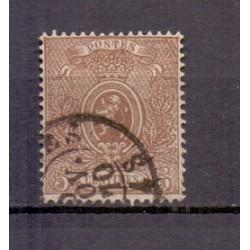 België 1867 n° 25Ab gestempeld