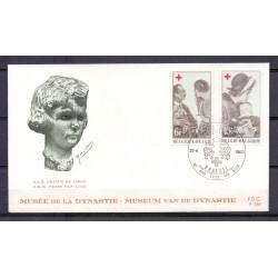Belgium 1968 N° 1454/55FDC