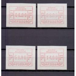 Belgium 1981 n° ATM4SET** mnh