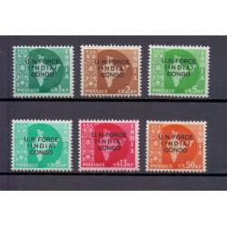 Congo 1962 n° A124 MNH** UN...