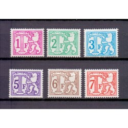 België 1966 n° TX66B/71B...