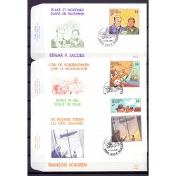 Belgien 1991 n° 2428/31FDC