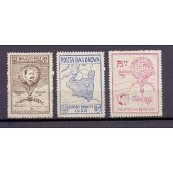 Belgium 1939 n° E19/21** MNH