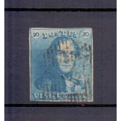 Belgium 1849 n° 2a used...