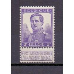 België 1912 n° 117a**...