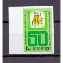 Belgium 1971 n° 1601ON imperf