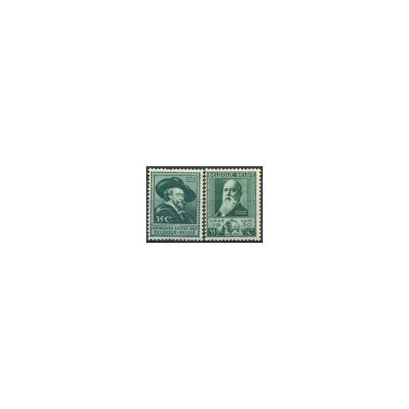 Belgium 1930 n° 299/00** MNH