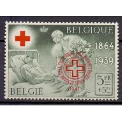 Belgium 1941 n° 582BA**...