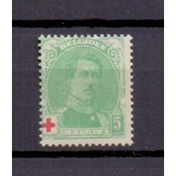 België 1914 n° 129a**...
