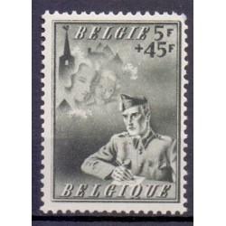 België 1942 n° 602A gestempeld